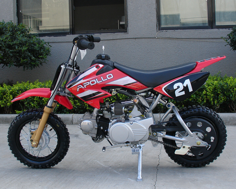 Apollo Dirt Bikes 70cc On Youtube Front