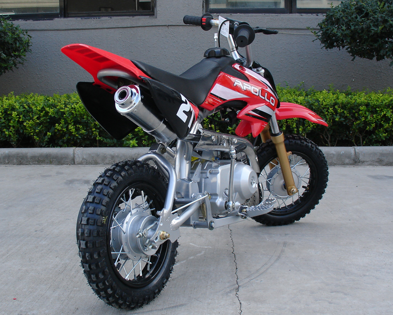 Apollo Dirt Bikes 70cc On Youtube Tail