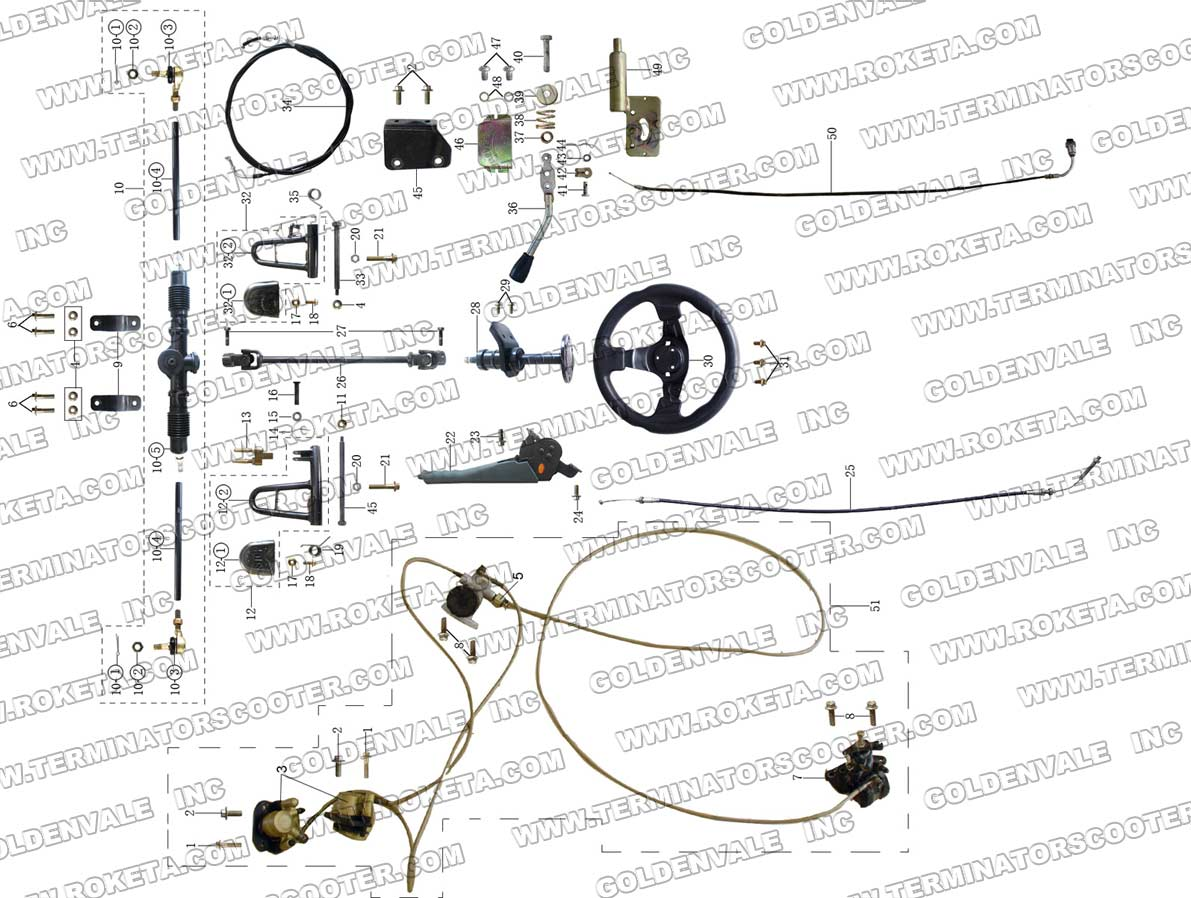 Roketa 150 Engine Diagram Everything About Wiring For 150cc Gy6 Scooter Gk06 Rh Com