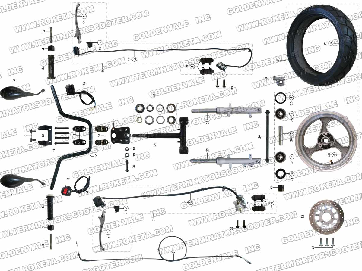 Roketa Mc 54b Wiring Diagram Reinvent Your 2007 150cc Scooter Mc54 Rh Com Manual
