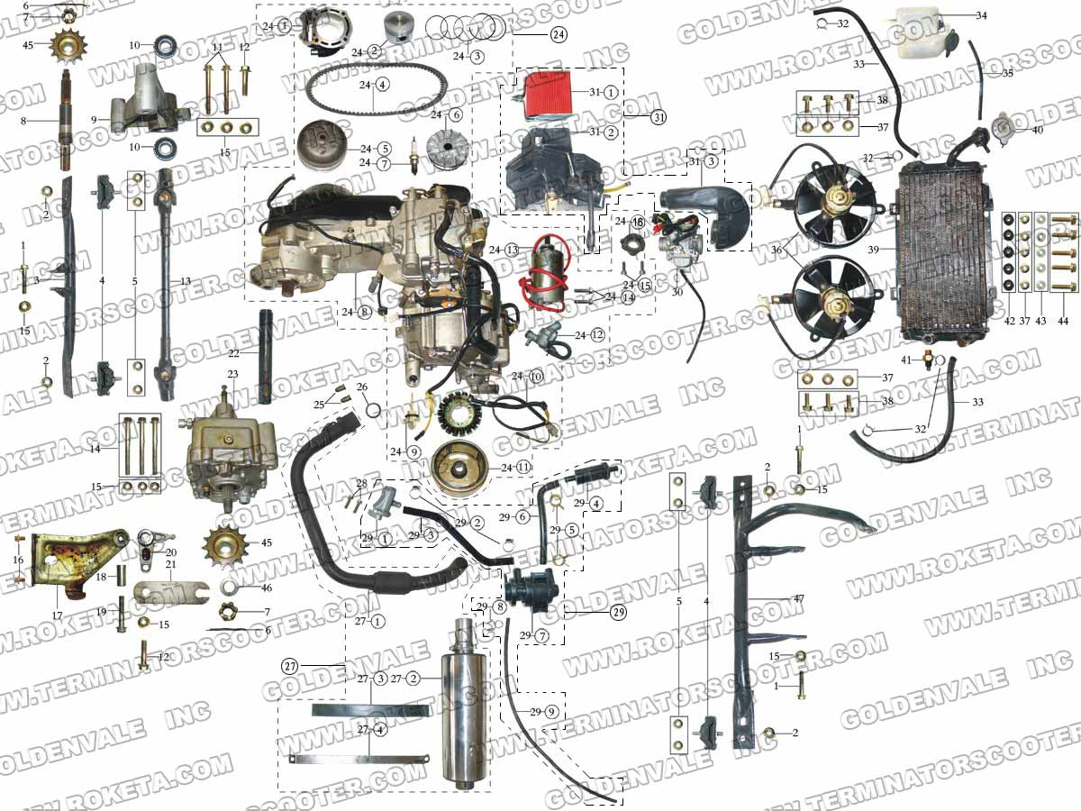 Dune Buggy Engine Schematics Layout Wiring Diagrams 250cc Diagram Roketa 250 Turn Signal Switch With Honda Manx
