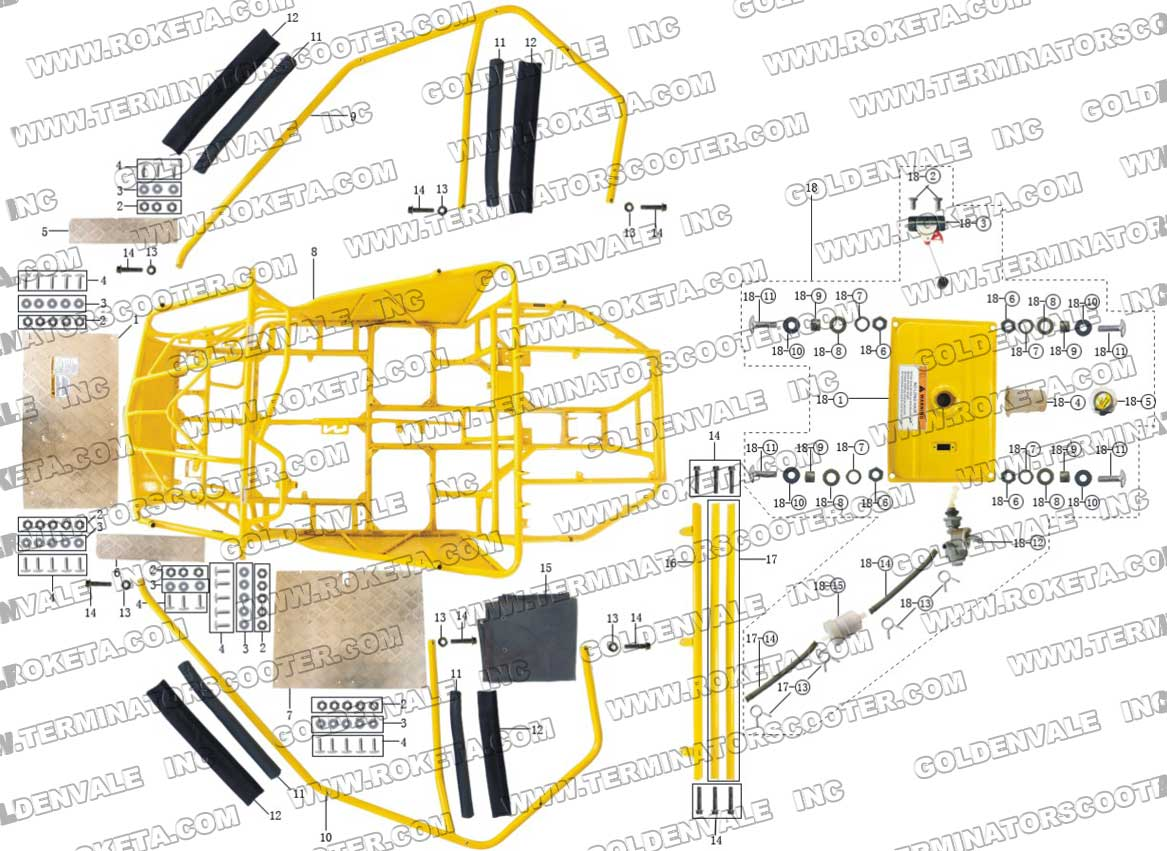 Roketa 250 Scooter Wiring Diagram Free Download 150 Go Kart Cdi Gk 01 Engine Image For Chinese Jonway Yy250t