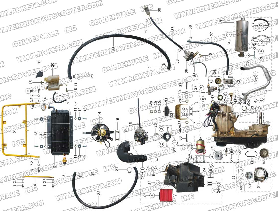Roketa 150cc Buggy Wiring Diagram Smart Diagrams 110 Gk 01 Free Engine Image For Atv Schematic