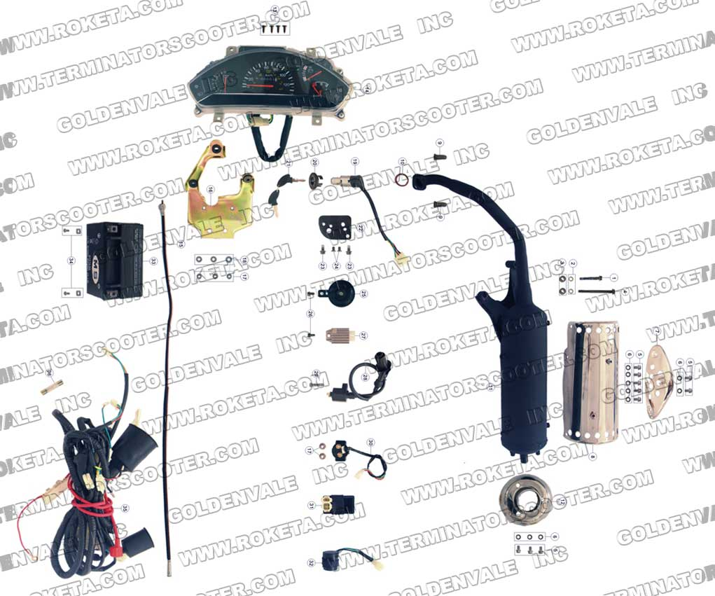 Mid Xrx Gokart Engine Cylinder Head in addition Help With Chinese Atv Solenoid Of Cc Wheeler Wiring Diagram further Ring Topology Diagram moreover Go Kart Engine Diagram Main Wire Cowl For Yerf Dog Cuvs Of Go Kart Engine Diagram together with Roketa Cc Atv Wiring Diagram Unique Roketa Atv Wiring Schematic Of Roketa Cc Atv Wiring Diagram. on roketa 150 wiring diagram
