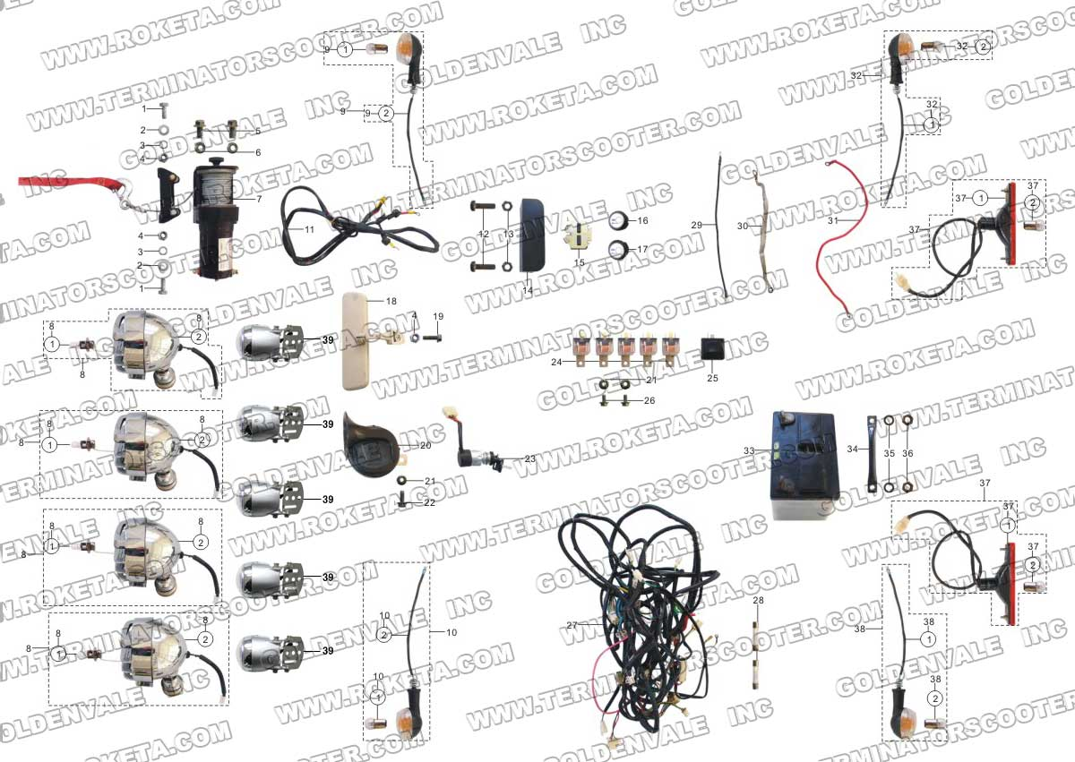 gk 01 roketa wiring diagram gk free engine image for user manual