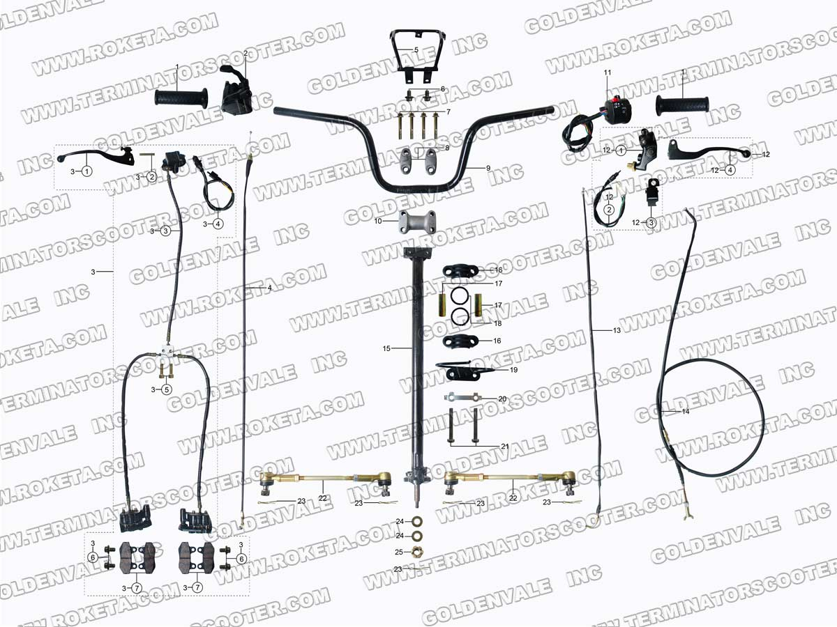 roketa dirt bikes wiring diagram