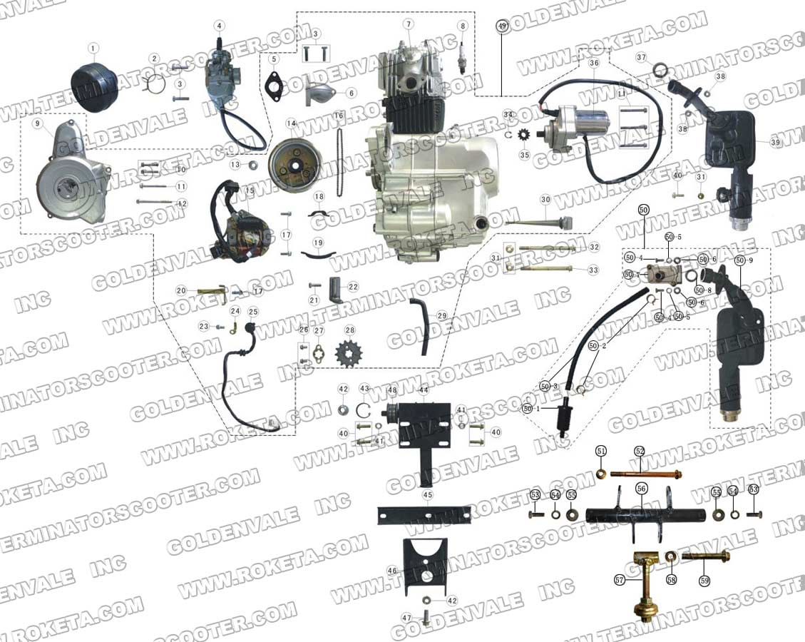 roketa 250 gk 19 dune buggy wiring diagram wiring diagram