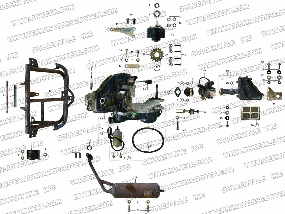 Gk 01 Roketa Wiring Diagram on parts diagram chinese atv wiring diagrams roketa