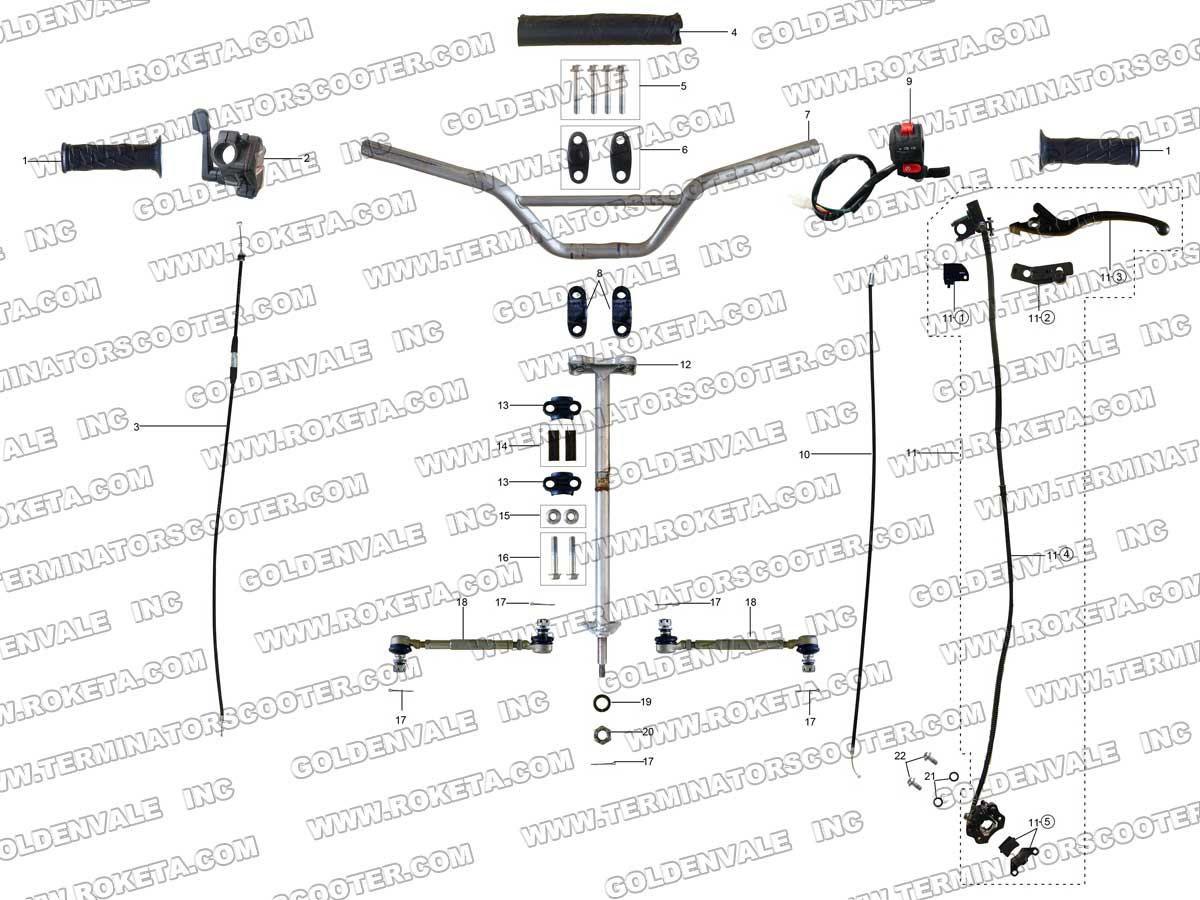roketa atv wiring schematic  roketa  free engine image for