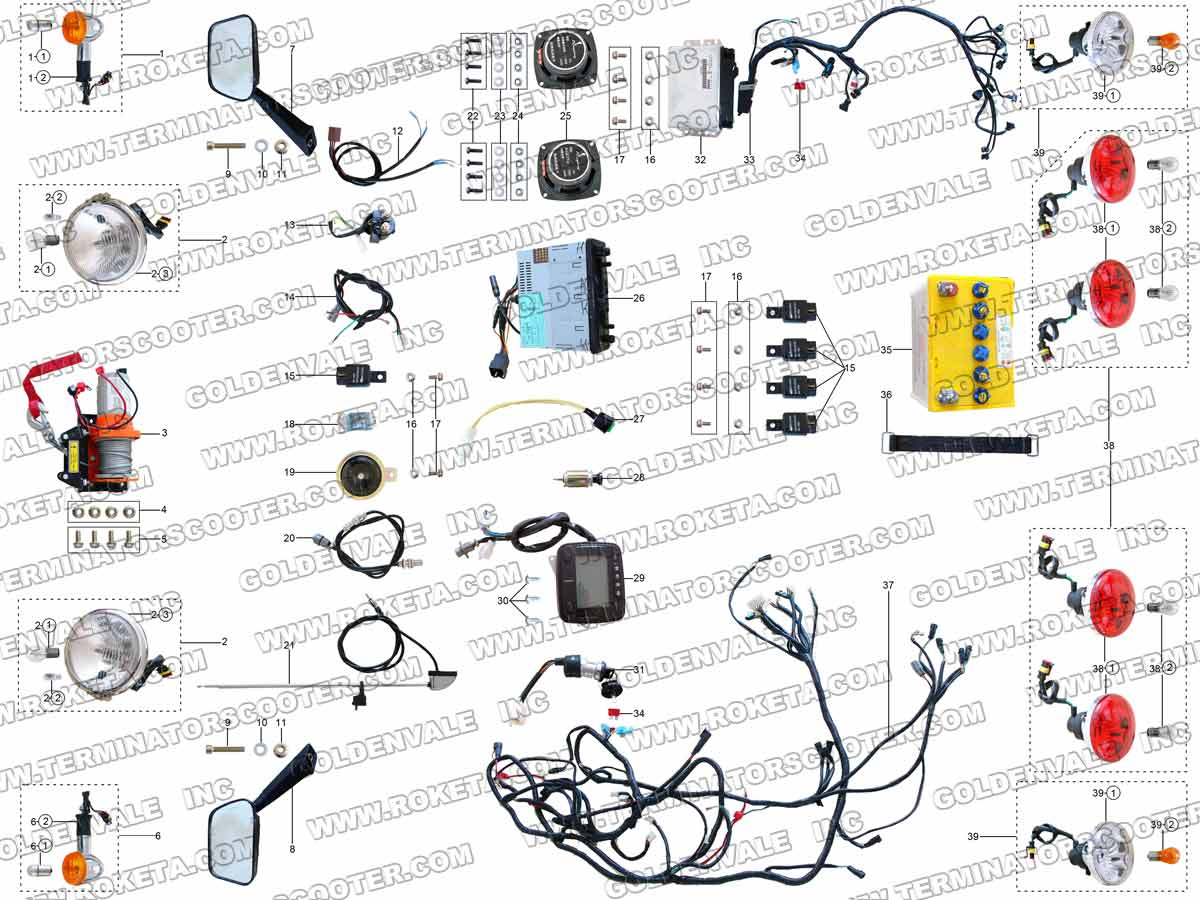 gk 01 roketa wiring diagram gk free engine image for roketa atv wiring  diagram roketa scooter wiring diagram
