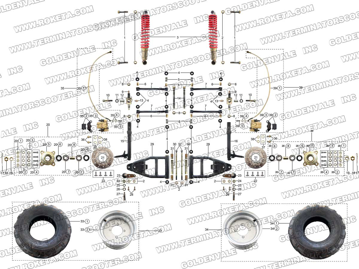 razor e100 scooter wiring diagram