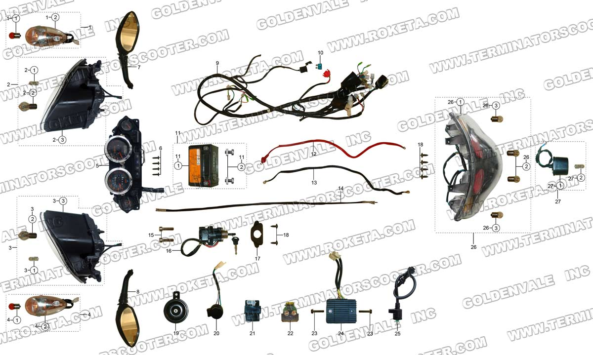 Roketa Atv Wiring Diagram from store.oohla.com