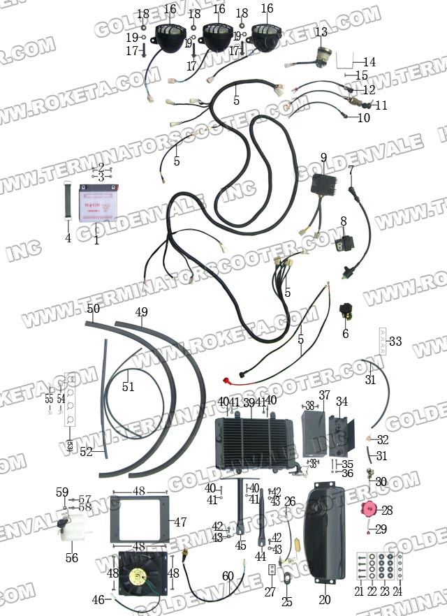 chinese 200 atv roketa wiring diagrams  diagram  auto