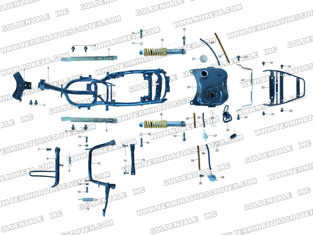 Mirror Wiring Diagram 955 671 Dorman Custom Project Roketa 150 Engine 28 Images 150cc Gy6